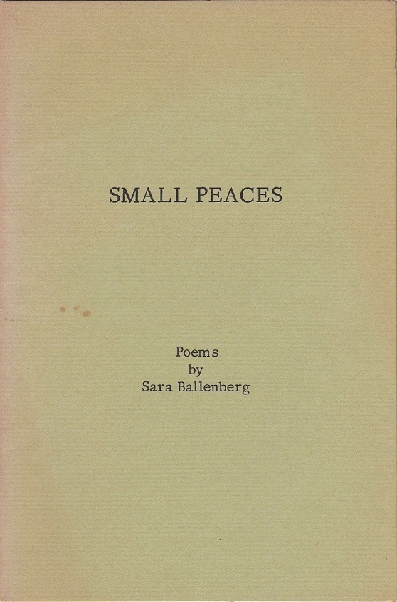 Image for Small Peaces: Poems
